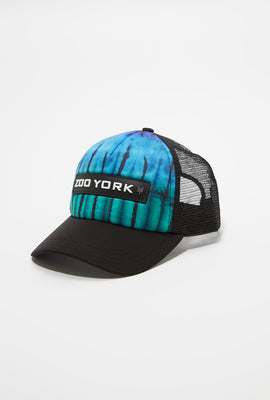 Zoo York Youth Tie Dye Trucker Hat
