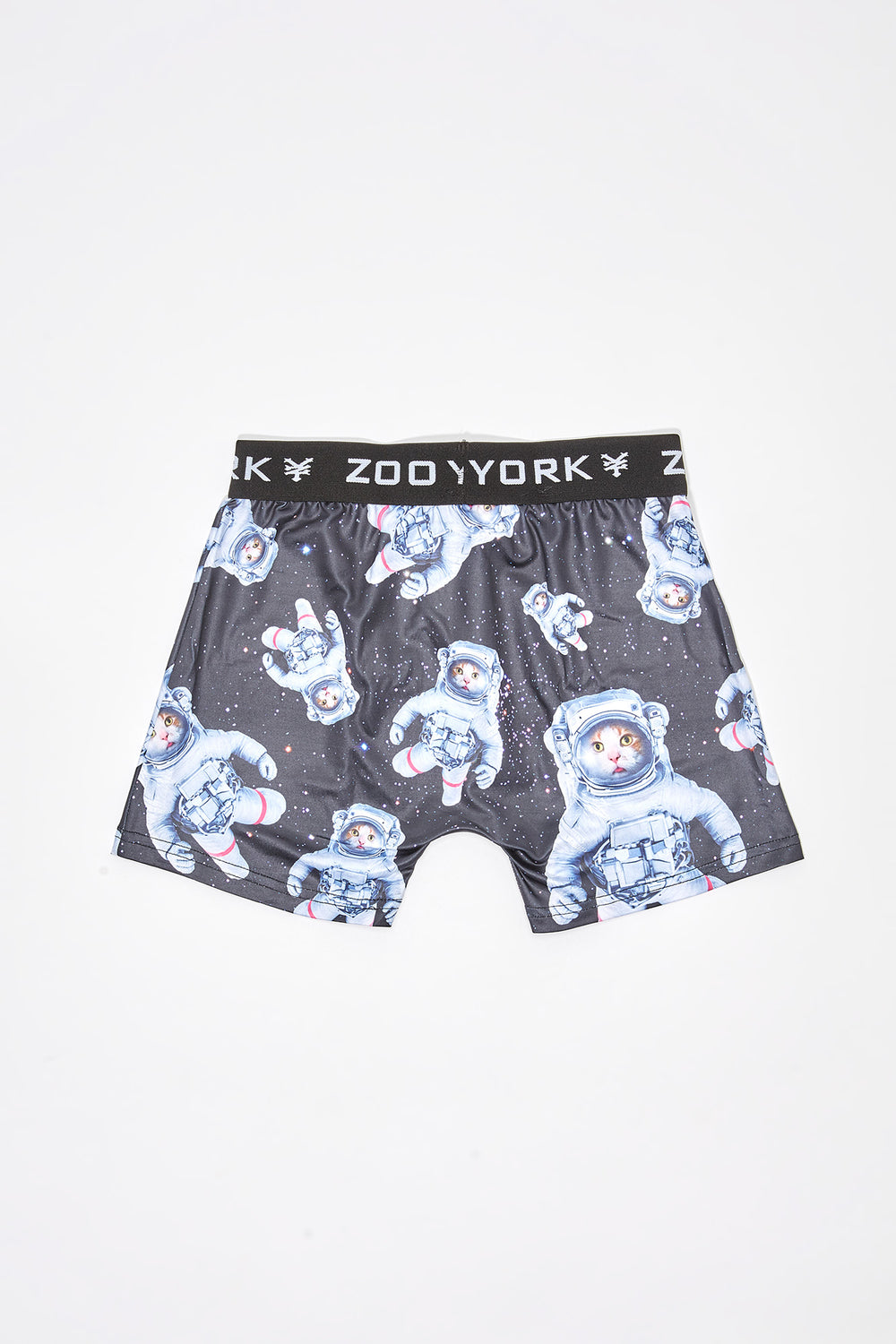 Zoo York Boys Cats in Space Boxer Brief Black