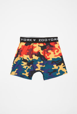 Zoo York Boys Rainbow Camo Boxer