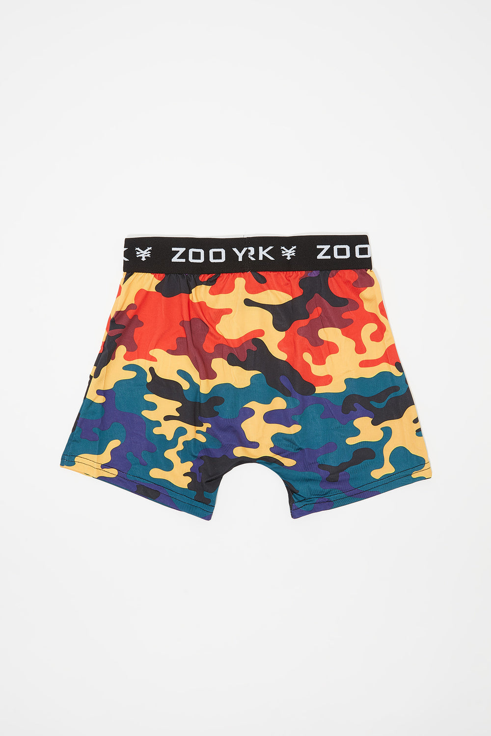 Zoo York Boys Rainbow Camo Boxer Multi