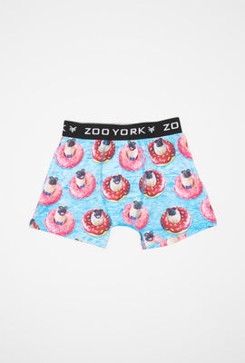 Zoo York Boys Pug Donut Boxer Brief