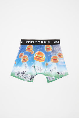 Zoo York Boys Hamburger Boxer Brief