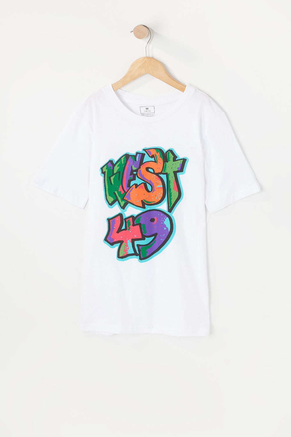 West49 Youth Graffiti T-Shirt White