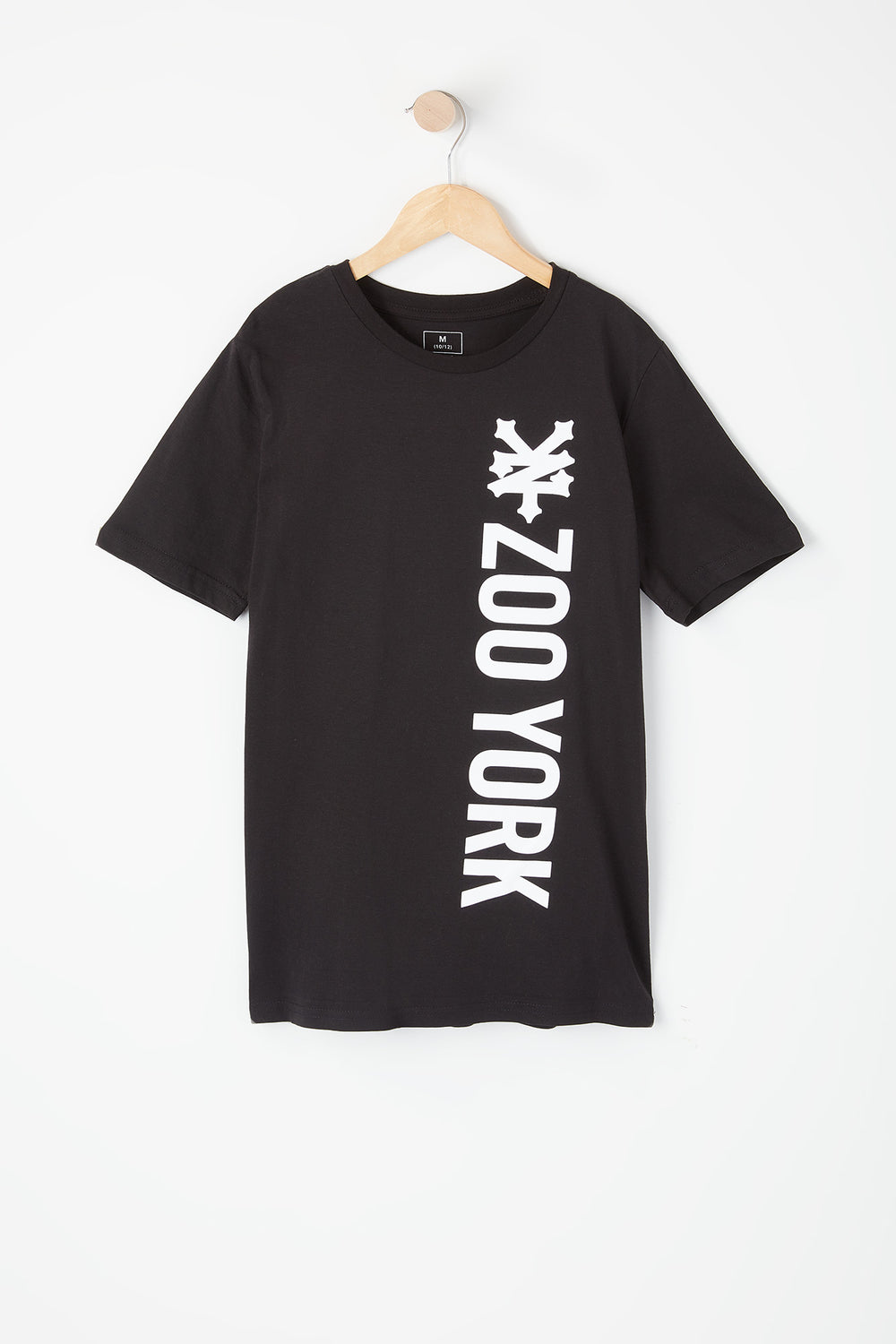 T-Shirt Imprimé Logo Zoo York Junior Noir