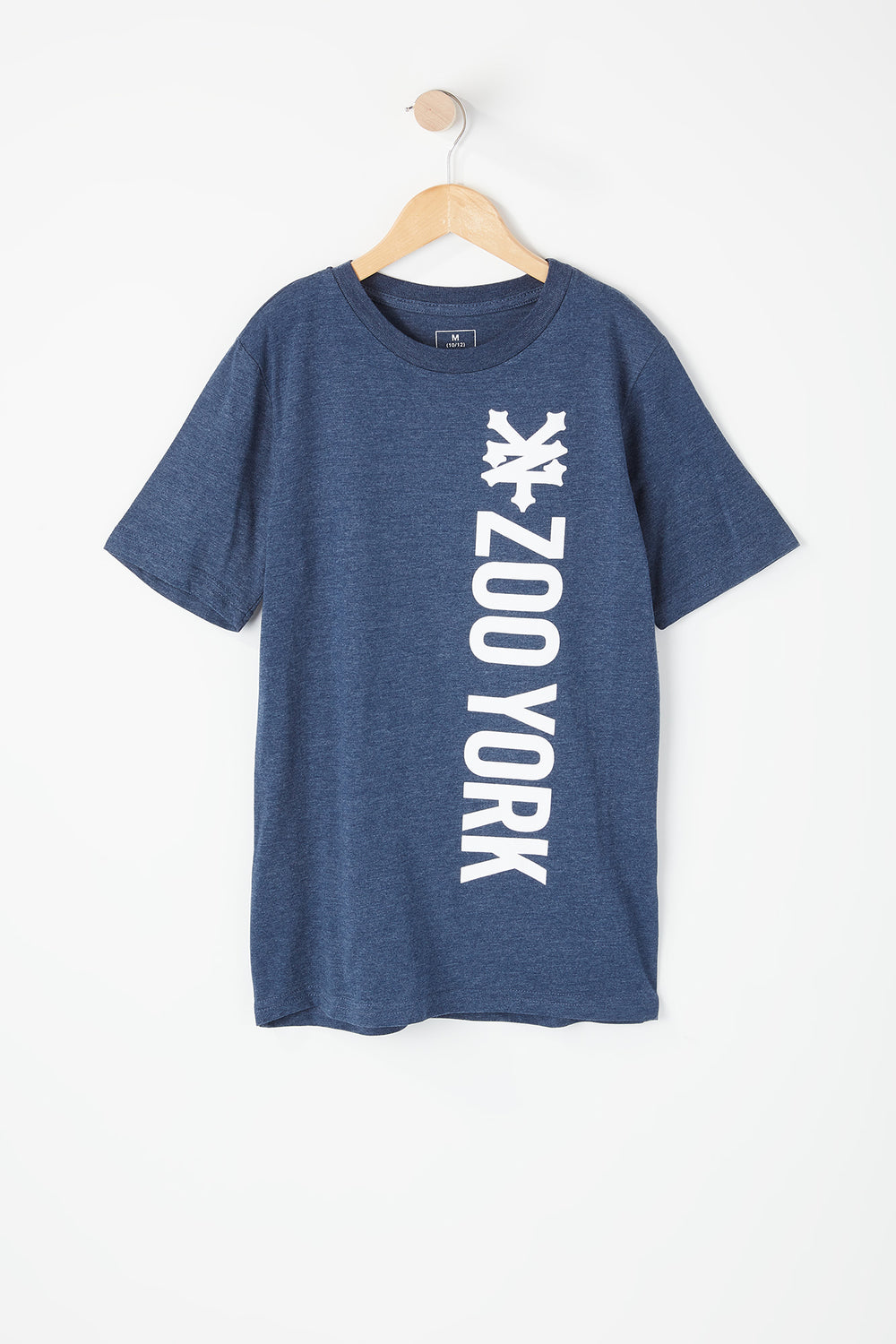 T-Shirt Imprimé Logo Zoo York Junior Bleu denim