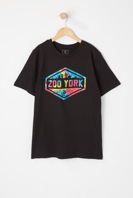 T-Shirt Logo Tie-Dye Zoo York Junior