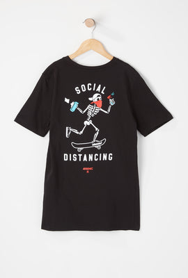 T-Shirt Social Distancing Arsenic Junior
