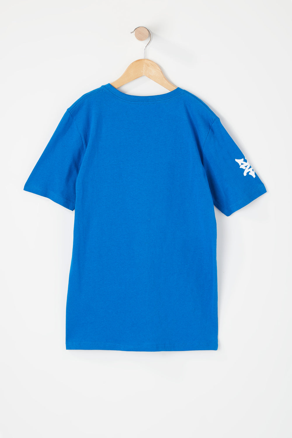 T-Shirt Logo Zoo York Junior Bleu