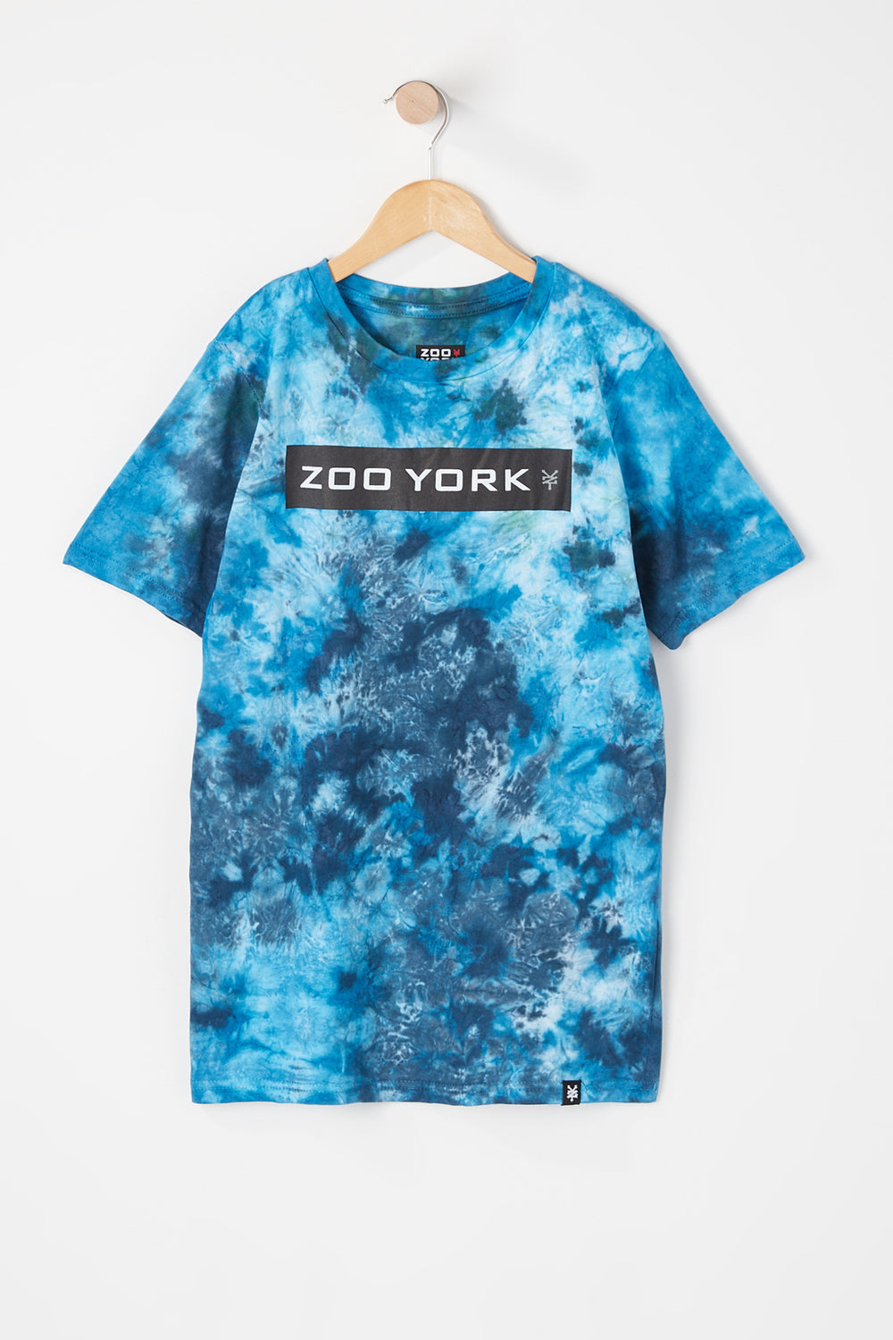 T-Shirt Tie-Dye Zoo York Junior Bleu fonce