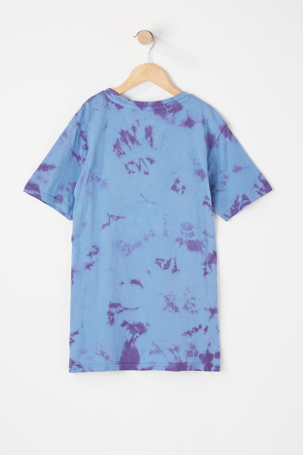 T-Shirt Tie-Dye Zoo York Junior Aubergine