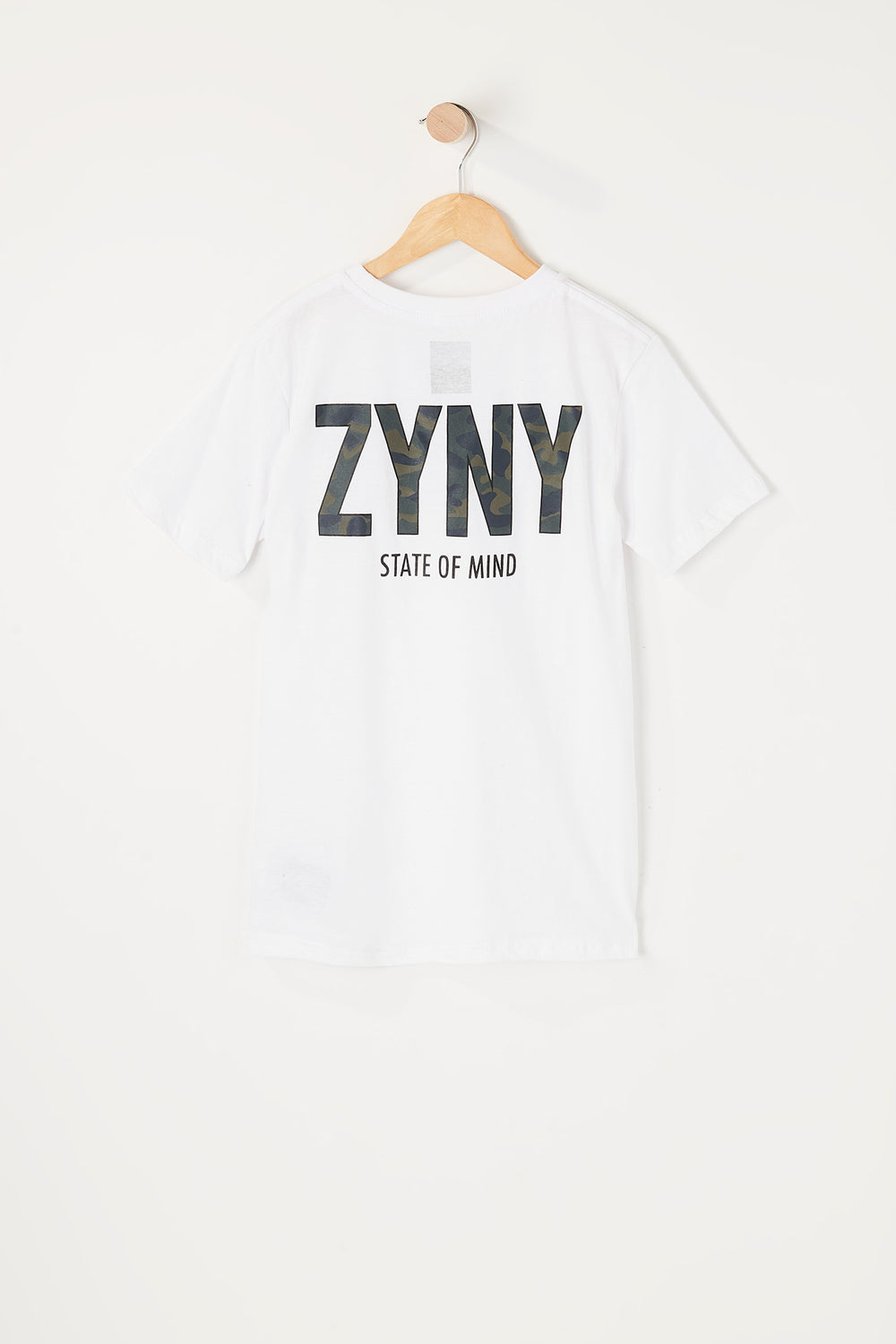 Zoo York Youth Camo Fill T-Shirt White