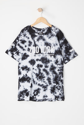 Zoo York Youth Lineup Logo Tie-Dye T-Shirt