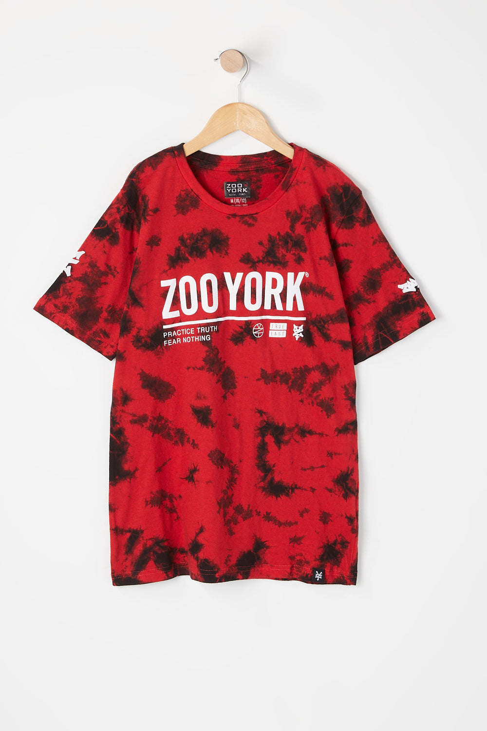 T-Shirt Tie-Dye Zoo York Junior Rouge