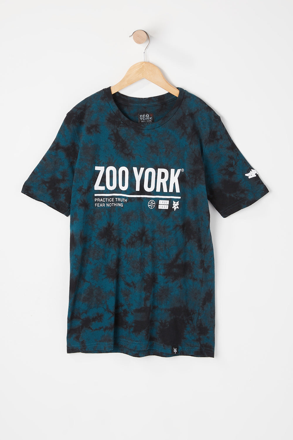 T-Shirt Tie-Dye Zoo York Junior Sarcelle