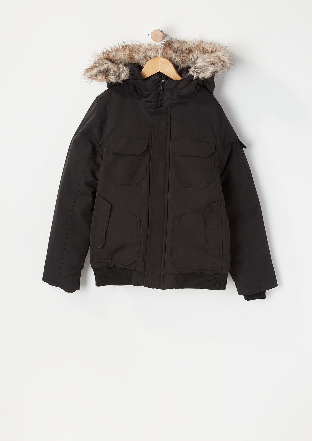 West49 Youth 4 Bomber Jacket Black