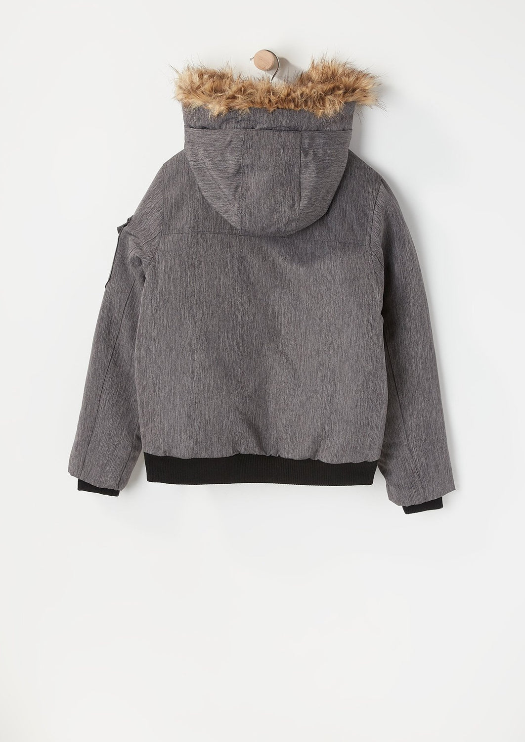 West49 Youth 4 Bomber Jacket Charcoal
