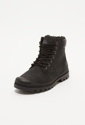 Storm Mountain Youth Faux-Fur Hiker Boots