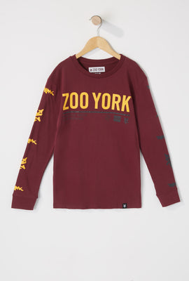 Zoo York Boys Fear Nothing Long Sleeves Shirt