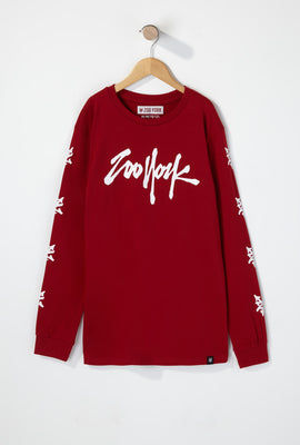 Zoo York Boys Tag Logo Long Sleeve Shirt