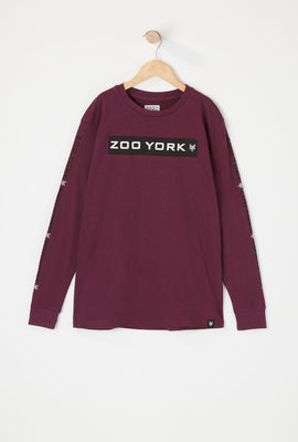 Zoo York Youth Box Logo Long Sleeve