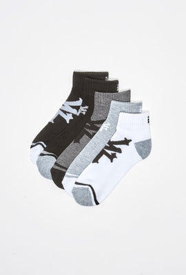 Zoo York Youth Logo Ankle Socks 5-Pack