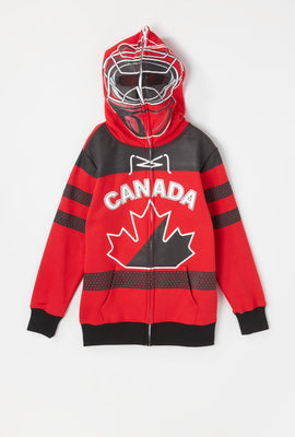 Youth Team Canada Goalie Peeper Hoodie