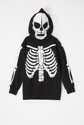 Youth Skeleton Peeper Hoodie