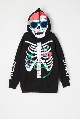 Youth Skeleton Game Peeper Hoodie