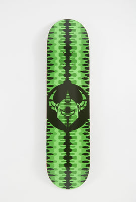 Darkstar Neon Green Badge Deck 7.75