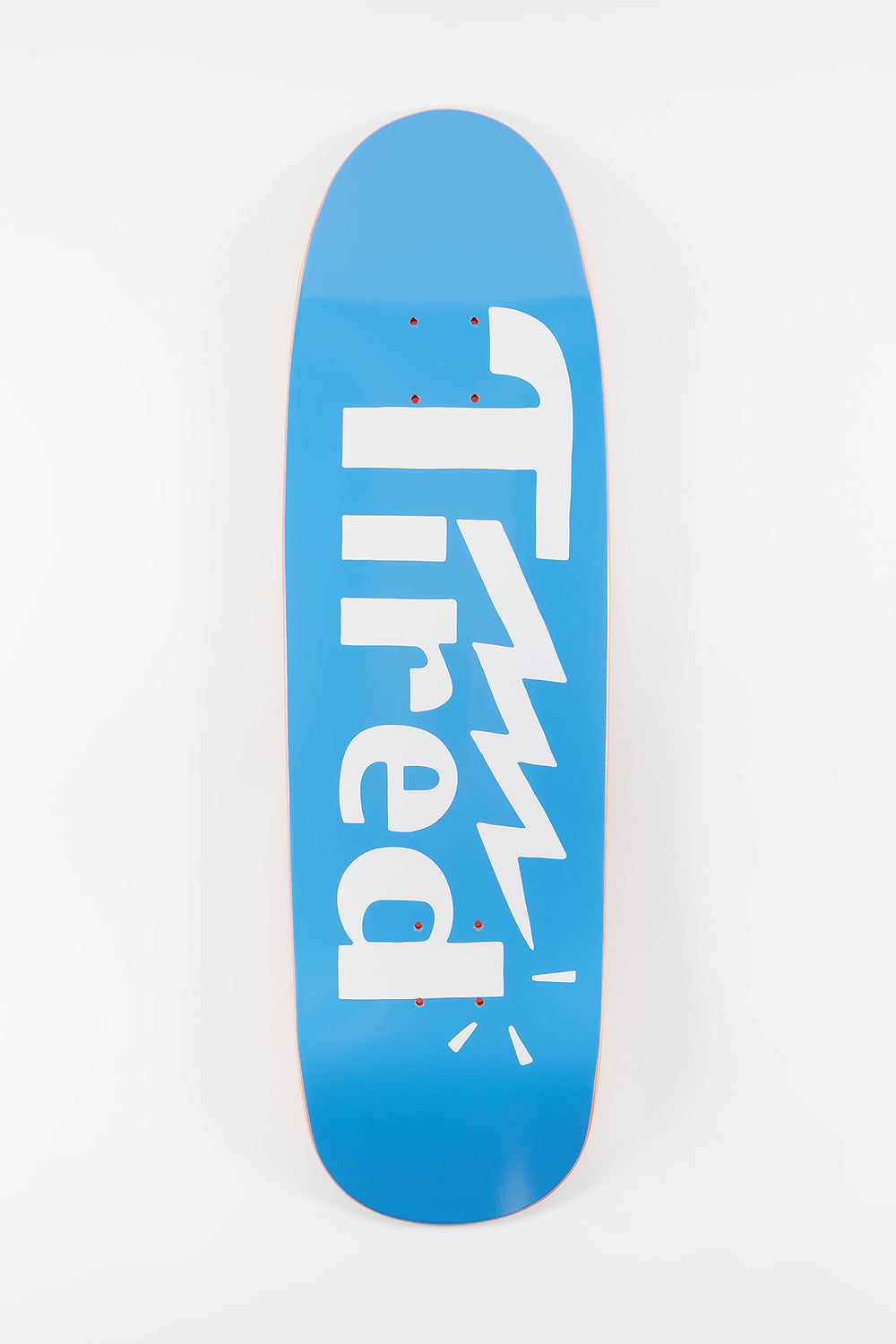Tired Logo One On Sigar Skateboard Deck 9.5