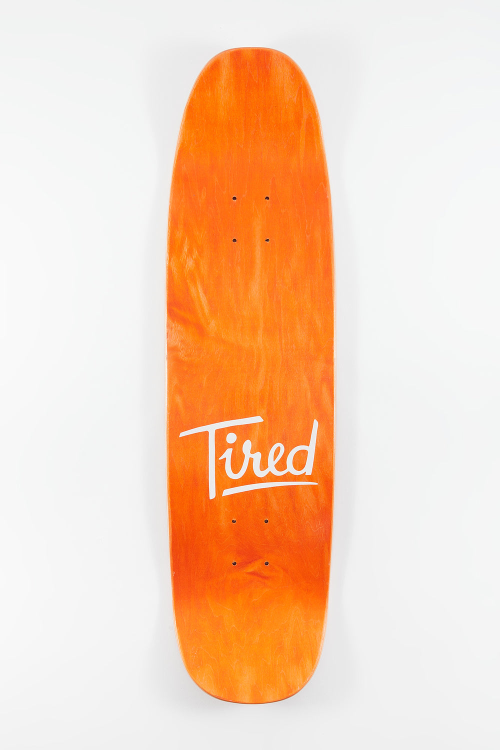 Tired Close Enough On Chuck Skateboard Deck 9