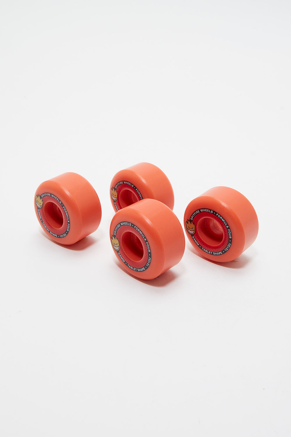 Roues Spitfire Formula Four 54mm Rouge