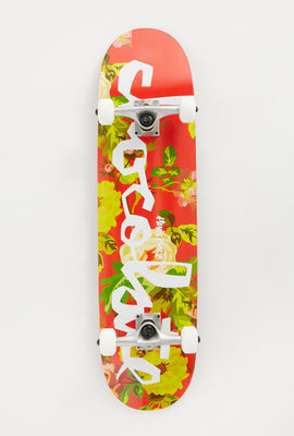 Skateboard Floral Chocolate Alvarez