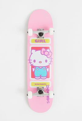 Girl x Sanrio Hello Kitty Malto Skateboard