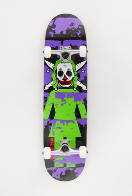 Girl Mike Mo Clown Pirate Skateboard