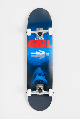 Skateboard Attaque De Requin Girl Malto
