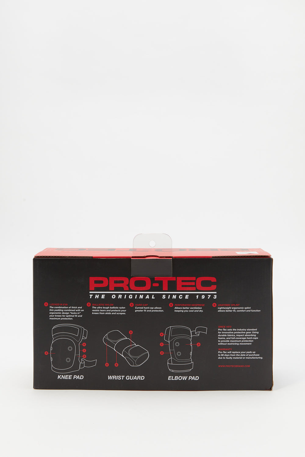Pro-Tec Youth Protective Gear Black