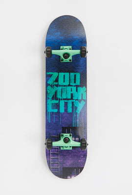 Zoo York Spray Drip Skateboard 8