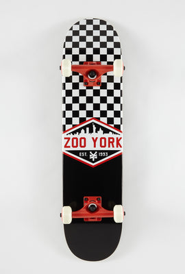 Zoo York Checker Skateboard 7.5