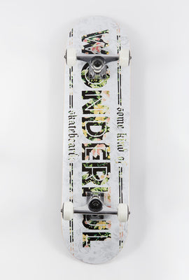 Wonderful Floral Skateboard 8