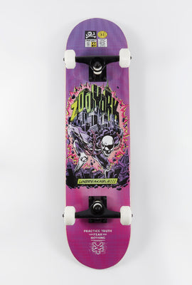 Zoo York Comic Skeleton Skateboard 7.75