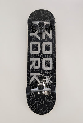 Zoo York Reflective Camo Skateboard 8