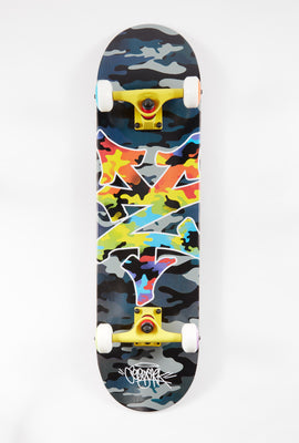 Zoo York Rainbow Camo Skateboard 8