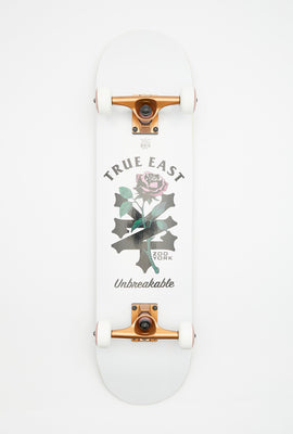 Zoo York Roses Skateboard 7.75