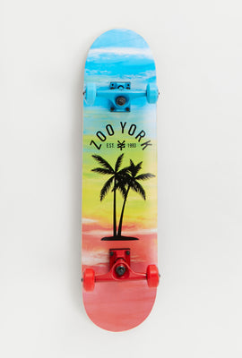 Zoo York Palm Tree Skateboard 7.75