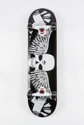 Death Valley Skull & Wings Skateboard 8