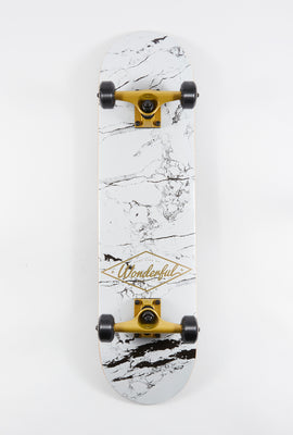 Wonderful Marble Skateboard 7.75