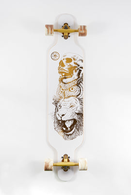 Wonderful Gold Animal Longboard 42
