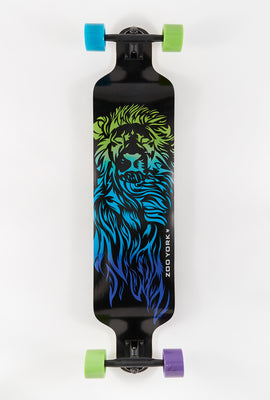 Zoo York Lion Fade Dropdown Longboard 40