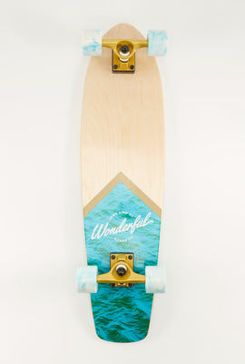 Wonderful Natural Water Longboard 30.75